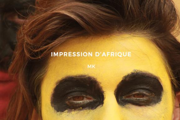 Impression d'Afrique
